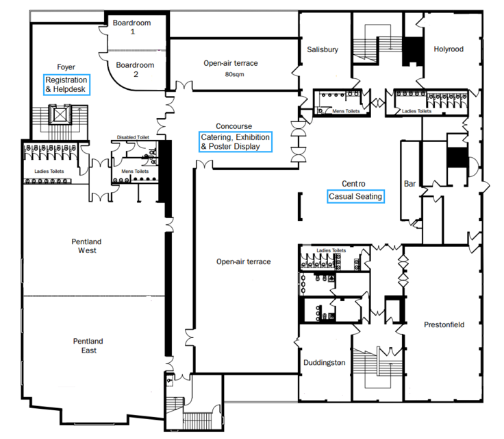 John McIntyre Conference Centre Floor Plan