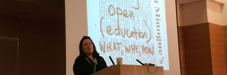 #OER16 Day 1 – Wikipedia, Shakespeare, Libraries & Gardens…